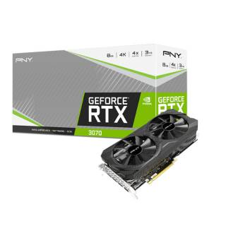PNY GeForce RTX 3070 Uprising Dual Fan 8GB GDDR6 HDMI/3*DP PCI Ex 4.0 16x