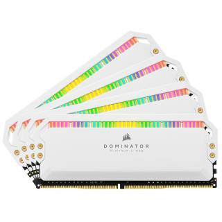 Corsair CMT32GX4M4C3200C16W Dominator Platinum RGB 32GB Kit 4x8GB DDR4 3200MHz CL16