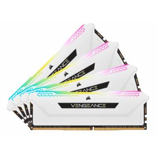 Corsair CMH32GX4M4D3600C18W Vengeance RGB Pro SL 32GB Kit 4x8GB DDR4 CL18 White