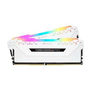 Corsair CMW16GX4M2C3000C15W Vengeance Pro RGB 16GB Kit 2*8GB DDR4 3000MHz CL15 Bianco