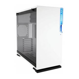 In Win 101 WHITE Middle Tower Paratia laterale Vetro Temperato No-Power mini ITX/microATX/ATX Bianco