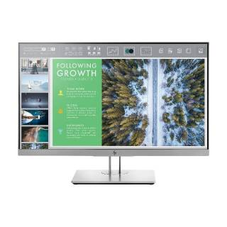 HP EliteDisplay E243 Monitor 23.8 IPS 60Hz FullHD 5ms Pivot Frameless USB3.1 VGA/HDMI/DP Nero/Argento