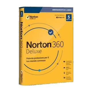 Norton 360 Deluxe 2020 5 Dipositiv 50GB Backup