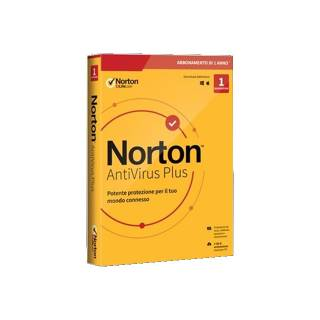 Norton AntiVirus Plus 2020 1 Dispositivo 2GB Backup