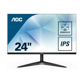 AOC  24B1XH Monitor 23.8 IPS 60Hz FullHD 7ms VGA/HDMI Nero