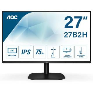 AOC 27B2H 27 IPS 75Hz FullHD 7ms VGA/HDMI