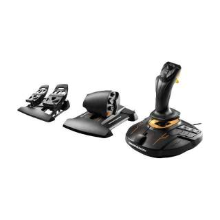 Thrustmaster T.16000M FCS Flight Pack Joystick con Manetta e Pedali 16 Tasti PC Nero