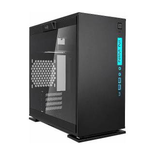 In Win 301C Black RGB Mini Tower Vetro Temperato No Power MinITX/mATX