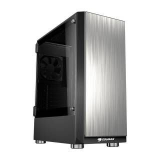 Cougar Trofeo Middle Tower Vetro Temperato No-Power MinITX / mATX/ATX/E-ATX Nero