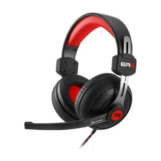 Sharkoon Rush ER2 Cuffie con Microfono Stereo jack 3.5mm PC/PS4/XBox One Nero/Rosso