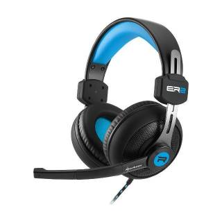 Sharkoon Rush ER2 Cuffie con Microfono Stereo Jack 3.5mm PC/PS4/XBox One Nero/Blu
