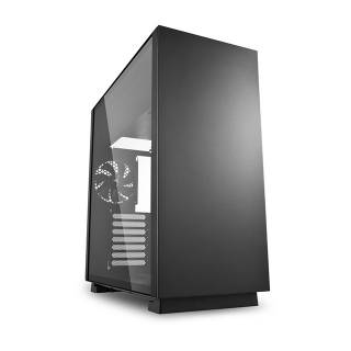 Sharkoon Pure Steel Middle Tower Vetro Temperato No Power minITX/mATX/ATX/E-ATX/CEB/EEB Nero