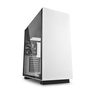 Sharkoon Pure Steel Middle Tower Vetro Temperato No Power minITX/mATX/ATX/E-ATX/CEB/EEB Nero/Bianco
