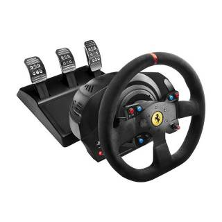Thrustmaster T300 Ferrari Integral Racing Alcantara Edition Volante con Pedaliera PC/PS3/PS4