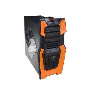 Cougar Challenger Middle Tower No-Power m-ATX/ATX Nero/Arancio