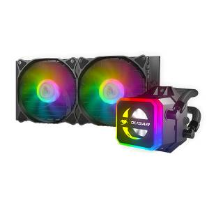 Cougar Helor 240 ARGB CPU Liquid Cooler Intel 1151/1200/2066 AMD AM3/AM4