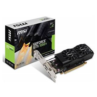 MSI GeForce GTX 1050 Ti 4GT 4GB GDDR5 DVI / HDMI / DP LP PCi Ex 3.0 16x