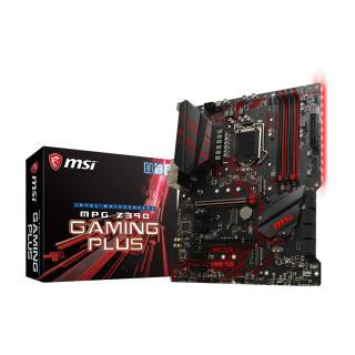 MSI MPG Z390 Gaming Plus LED Intel Z390 4*DDR4 2*M.2 6*SataIII DVI/HDMI ATX
