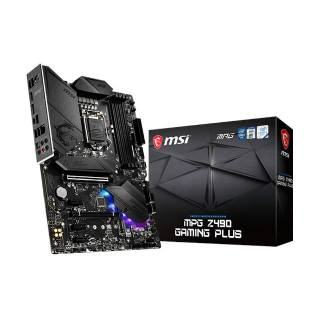 MSI MPG Z490 Gaming Plus RGB Intel Z490 4*DDR4 2*M.2 6*SataIII sk1200 HDMI/DP ATX