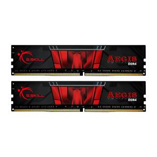 GSkill Aegis 16 Kit 2*8GB DDR4 3000MHz CL16 Nero