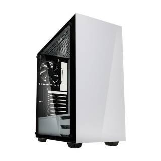 Kolink Stronghold Middle Tower Vetro Temperato No Power minITX/mATX/ATX/E-ATX Bianco