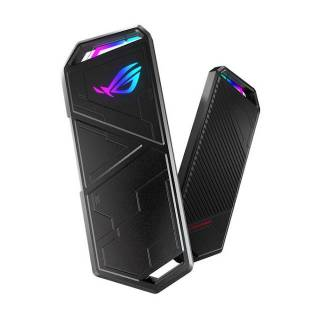 Asus ROG Strix Arion RGB HDD Enclosure M.2 PCIe NVMe M-Key 10Gbps Type-C