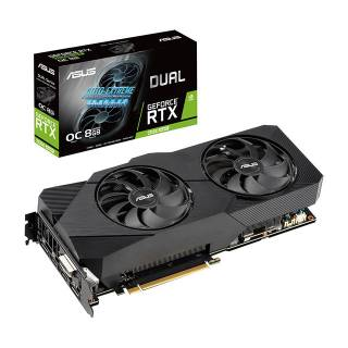 Asus GeForce RTX 2060 Super Dual OC Evo 8GB GDDR6 DVI/2*HDMI/2*DP PCi Ex 3.0 16x