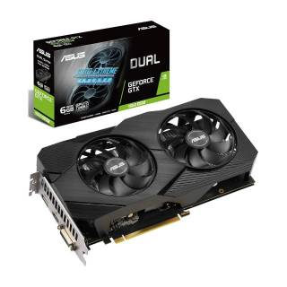 Asus GeForce Dual GTX 1660 Super Advance Evo 6GB GDDR6 DVI/HDMI/DP PCi Ex 3.0 16x