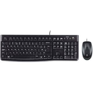 Logitech MK120 Kit Tastiera / Mouse USB Layout IT Nero