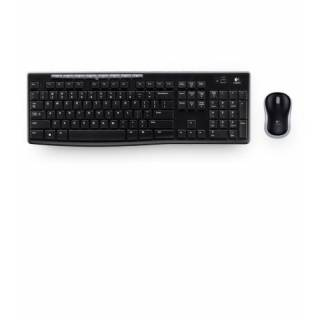 Logitech MK 270 Kit Tastiera/mouse Comfort Wireless Nero