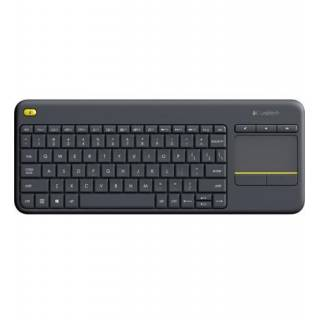 Logitech K400 Plus Tastiera + Touchpad Wi-Fi Layout IT