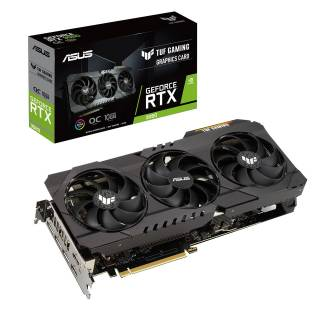Asus TUF GeForce RTX 3080 OC Gaming 10GB GDDR6X 2*HDMI/3*DP PCi Ex 4.0 16x