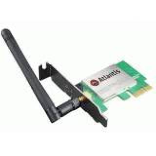 Atlantis NetFly Scheda Wi - Fi Single - Band 2.4GHz 150Mbps PCi Ex 1x
