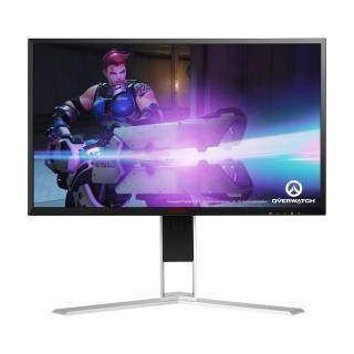 AOC Gaming AG251FG Monitor 24.5 TN 240Hz FullHD 1ms Multimediale Pivot G-Sync USB3.0 HDMI/DP Nero/Rosso