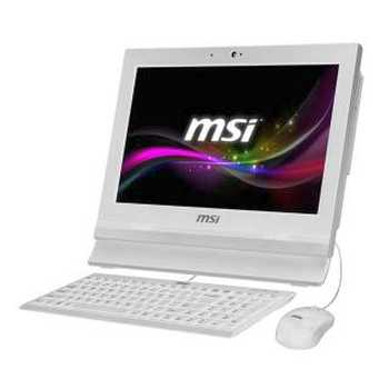 MSI AP1622 - 037XEU Intel 1037U 4GB Intel HD HDD 500GB 15.6'' HDready Touchscreen 2GLAN Wi - Fi Free Dos Bianco
