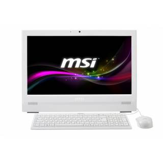 MSI AP200 - 208XEU Intel Pentium G3250 4GB Intel HD HDD 500GB 20'' Touchscreen FreeDos Bianco