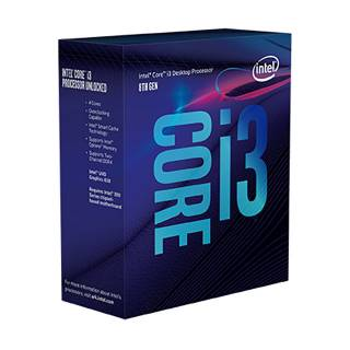 Intel Core i3-8100 Quad Core 3.6GHz 6MB sk1151 Box
