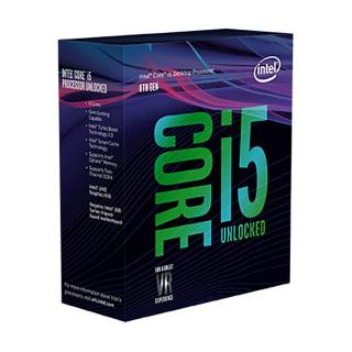 Intel Core i5-8600K Esa Core 3.6GHz 9MB sk1151 Box