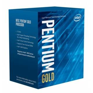 Intel Pentium Gold G6400, Intel® Pentium® Gold, 4 GHz, LGA 1200 (Socket H5), PC, 14 nm, Intel