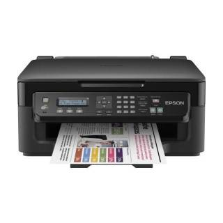 Epson WorkForce WF-2510WF Multifunzione InkJet a Colori Stampa/Scanner/Copia/Fax A4 18ppm Wi-Fi Nero