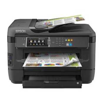 Epson WorkForce WF - 7620DTWF Multifunzione Stampa / Fax / scanner Colori 20ppm USB / LAN / Wi - Fi Nero