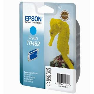 EPSON CARTUCCIA CIANO T0482 13ML