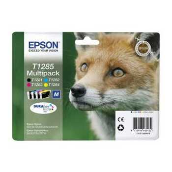 Epson T1285 Multi - Pack Volpe per S22 BX305F SX125 SX420