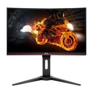 AOC Gaming C27G1 Monitor 27 Curvo 144Hz VA FullHD 1ms FreeSync VGA/HDMI/DP Nero