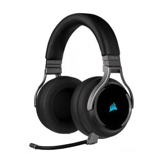 Corsair Virtuoso iCUE Cuffie con Microfono Wireless Carbon
