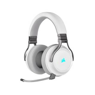 Corsair Virtuoso iCUE Cuffie con Microfono Wireless White Corsair Renewed