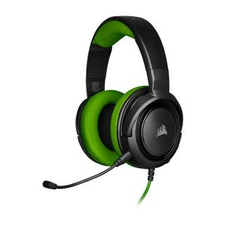 Corsair HS35 Green Cuffie con Microfono jack3.5 PC/XboxOne/PS4/Mobile