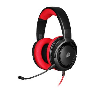 Corsair HS35 Red Cuffie con Microfono jack3.5 PC/XboxOne/PS4/Mobile