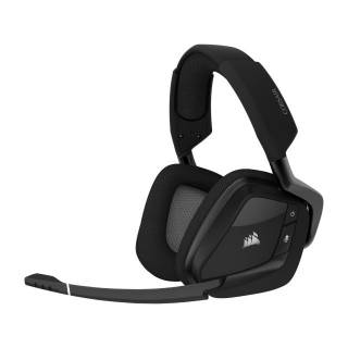 Corsair Void Elite Wireless RGB iCUE Cuffie con Microfono PC/PS4 Nero