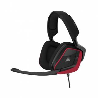 Corsair Void Elite RGB iCUE Cuffie con Microfono PC/PS4 Rosso
